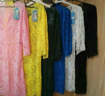 Женские пляжные туники пляжное платье