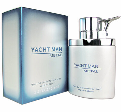 Мужские духи Yacht Man Metal Яхт Мен Метал 100 мл