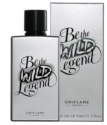 Мужская туалетная вода Be The Wild Legend Би Зе Вайлд Ледженд Орифлейм Oriflame