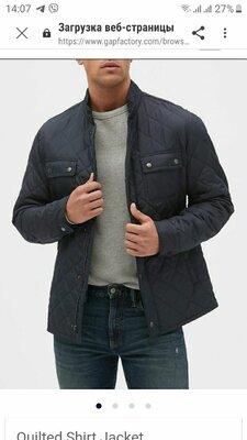 Gap.Стильная мужская куртка пиджак. сша.Оригинал. р л. укр 50-54