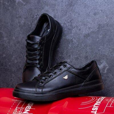 Продано: Кожаные кроссовки