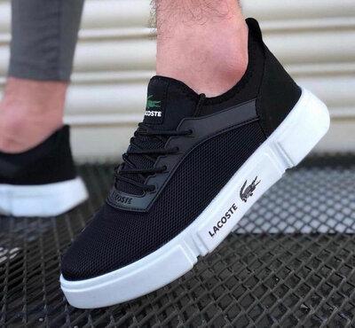 LACOSTE Black/White