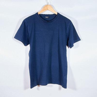 Мужская футболка синяя, чоловіча футболка синя