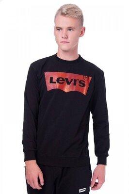 Свитшот Levi's черный лого