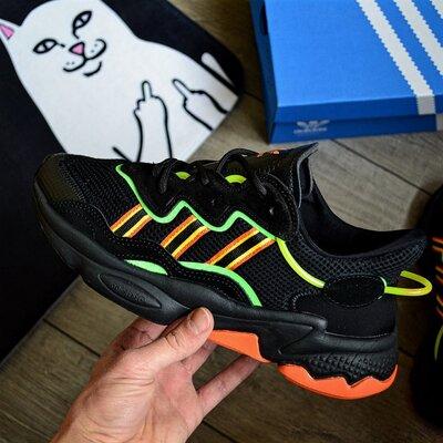 Adidas Ozweego 'Black Green'