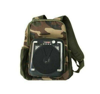 Продано: Туристический Рюкзак С Bluetooth Колонкой M34