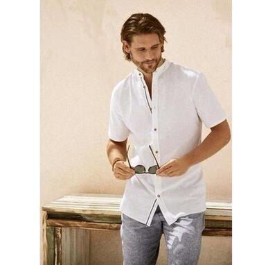 Белая рубашка, шведка, короткий рукав, m-l ворот 42, Royal class, Германия