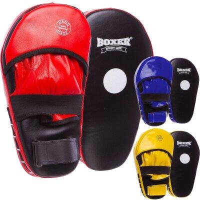 Лапа прямая удлиненная кожаная Boxer 2007-01 2 лапы в комплекте 40х21х4,5см