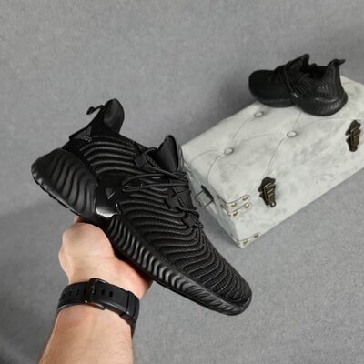 Кроссовки Adidas Alphabounce Instinct, черные, 10431