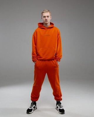 Спортивный костюм оверсайз Пушка Огонь Scale 2.0 оранжевый