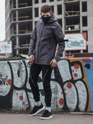 Куртка Марк - 1 серый 110-0063