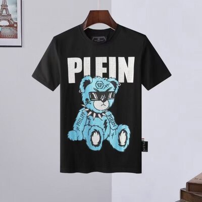 Футболка Philipp Plein bear blue 322 black
