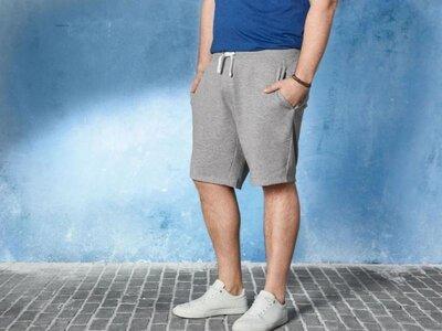 Классные мужские шорты двунитка германия, большие размеры, баталы