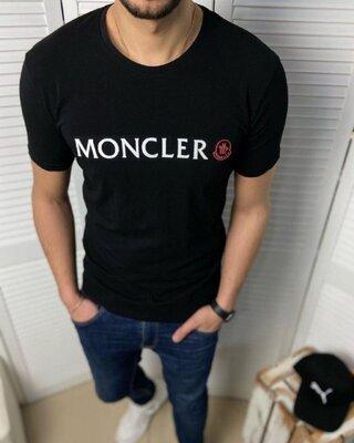 Футболка Moncler Черная