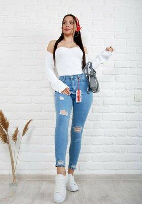 Женские джинсы, полубатал