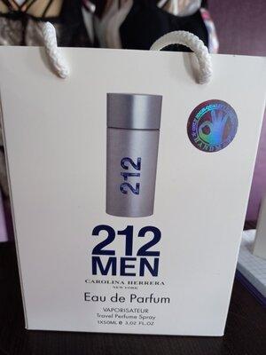 в наличии мужская парфюмная вода CAROLINA HERRERA 212 MEN КАРОЛИНА Херрера 212 Мен 50 мл