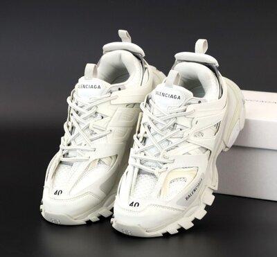 Мужские кроссовки Balenciaga Track. White