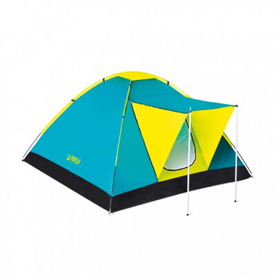 BW Палатка 68088 трёхместная, с навесом