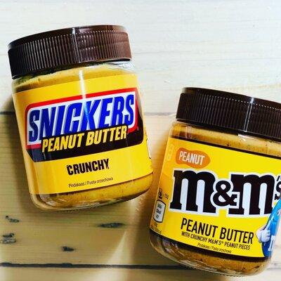 Арахисовая паста M&M S и Snickers, J.M.Smucker, Сша, 225 грам