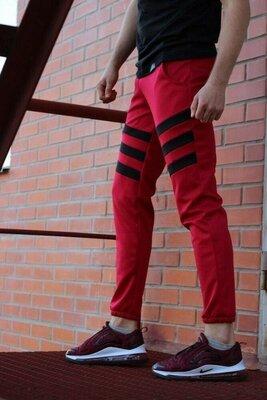 Штаны Flip красно-черные