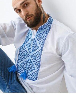 Безкоштовна доставка Вишиванка на сорочковій тканині