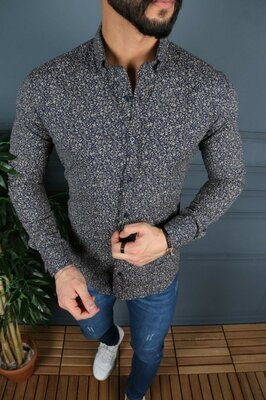 Рубашка Турция стречкоттон р S-XL