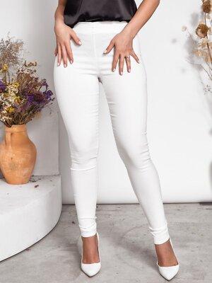 Стильные брюки лосины 48-50 52-54 56-58 60-62. Белый , чёрный, фрез,