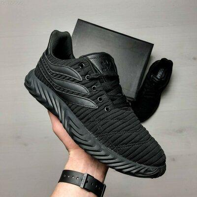 Мужские кроссовки Sobakov чёрные