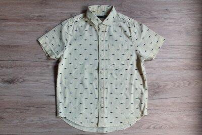 Шведка,рубашка Next для мальчика 4-5 лет рост 104-110