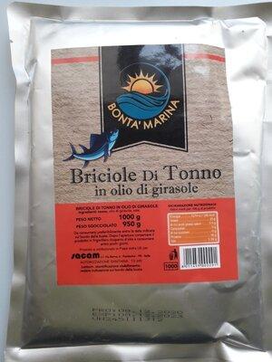 Тунец Briciole di tonno 1кг Италия