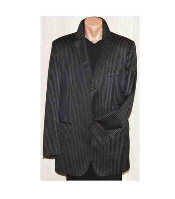 burberryмужской пиджак классика чёрный в синюю полоску Burberry Оригинал 52р