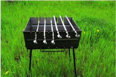 Мангал раскладной STENSON на 6 шампуров
