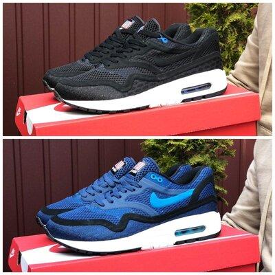 Кроссовки Nike Air Max Zero QS черные и синие