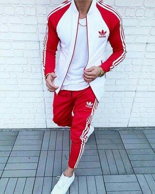 Спортивный костюм Adidas classic red