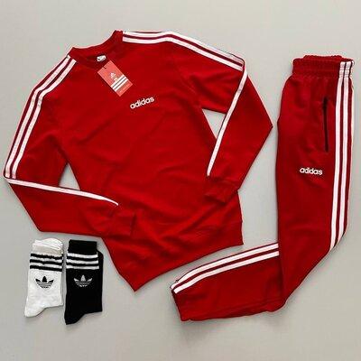 Спортивный костюм унисекс разные цвета Adidas Адидас XS S M L XL XXL