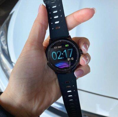 Мужские спортивные смарт-часы S10 pro черные