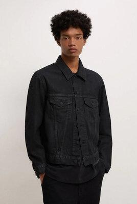 Мужская джинсовая куртка от ZARA, М, XL, оригинал, Испания