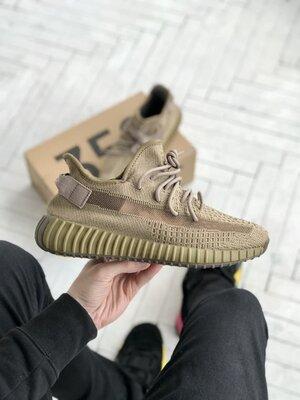 Мужские Кроссовки Adidas Yeezy Boost 350 V2 Brown ААА 41-42-43-44-45