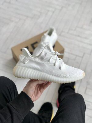 Мужские Кроссовки Adidas Yeezy Boost 350 V2 White ААА 41-42-43-44-45