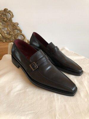 Новые итальянские туфли лоферы Bata pp 46
