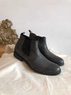 Мужские кожаные ботинки Olee pp 42