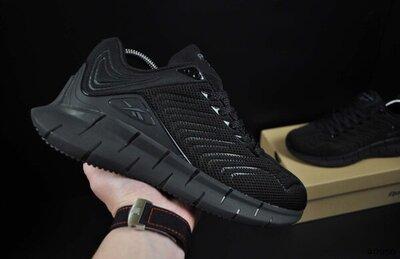 кросівки Reebok Zig Kinetica 41-46р сірі і чорні