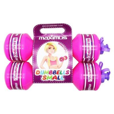 Гантели-Бутылочки Для девочки , 2 штуки 0,75 кг Максимус 5346