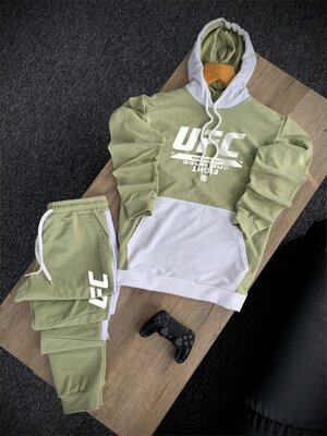 Продано: Мужской спортивный весенний костюм UFC. Худи/штаны. Топ-Качество