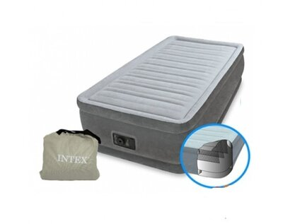 Надувне ліжко 64412 з вбудованим електронасосом 220 V