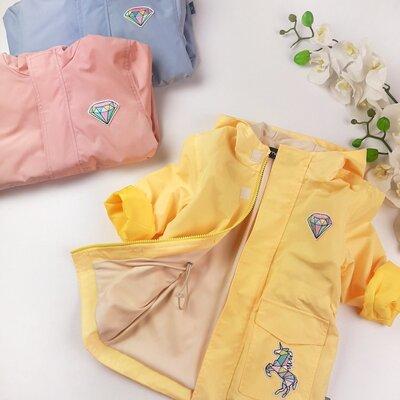 Детская ветровка на девочку парка летняя куртка для девочки весенняя ветровка для девочки в наличии