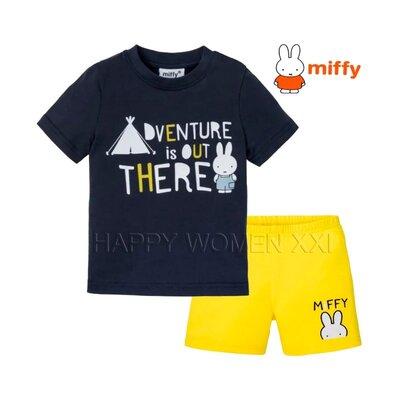 Летняя пижама для мальчика 1-6 лет Miffi комплект шорты піжама на хлопчика дитяча піжамка