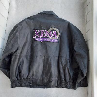 Куртка кожа Xena Warrior Princess, 3XL