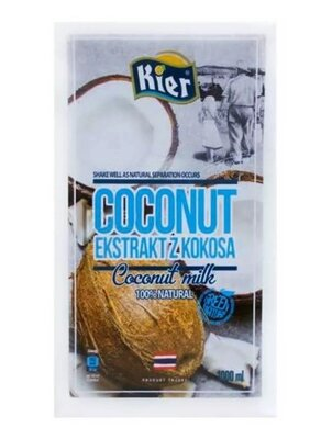 Кокосовое молоко Kier 1 л Кокосовое молоко Kier Киер это натуральный растительный продукт высоча