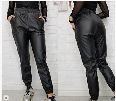 Продано: Продам штани-джогери еко шкіра
